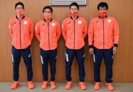 東京2020オリンピック競技大会への出場激励金を給付しました。